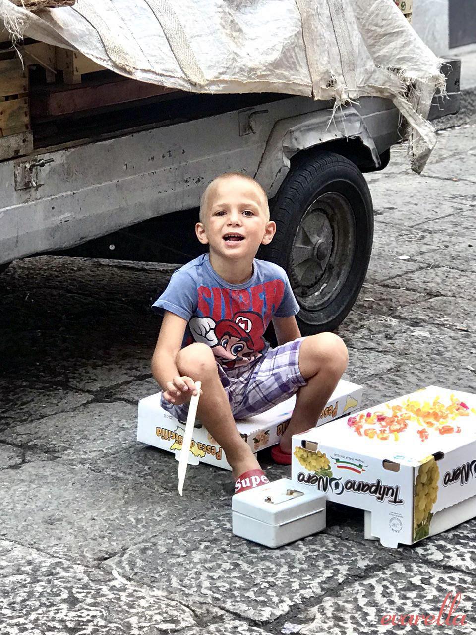 junge bonbons mercato del capo palermo