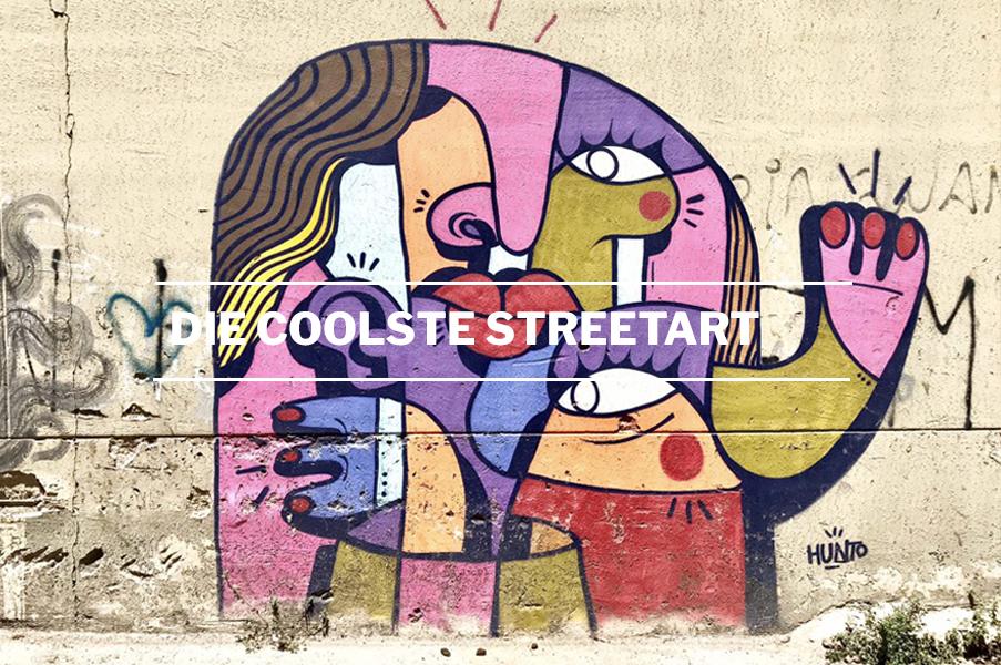 Die coolste Streetart in Palermo-Sizilien