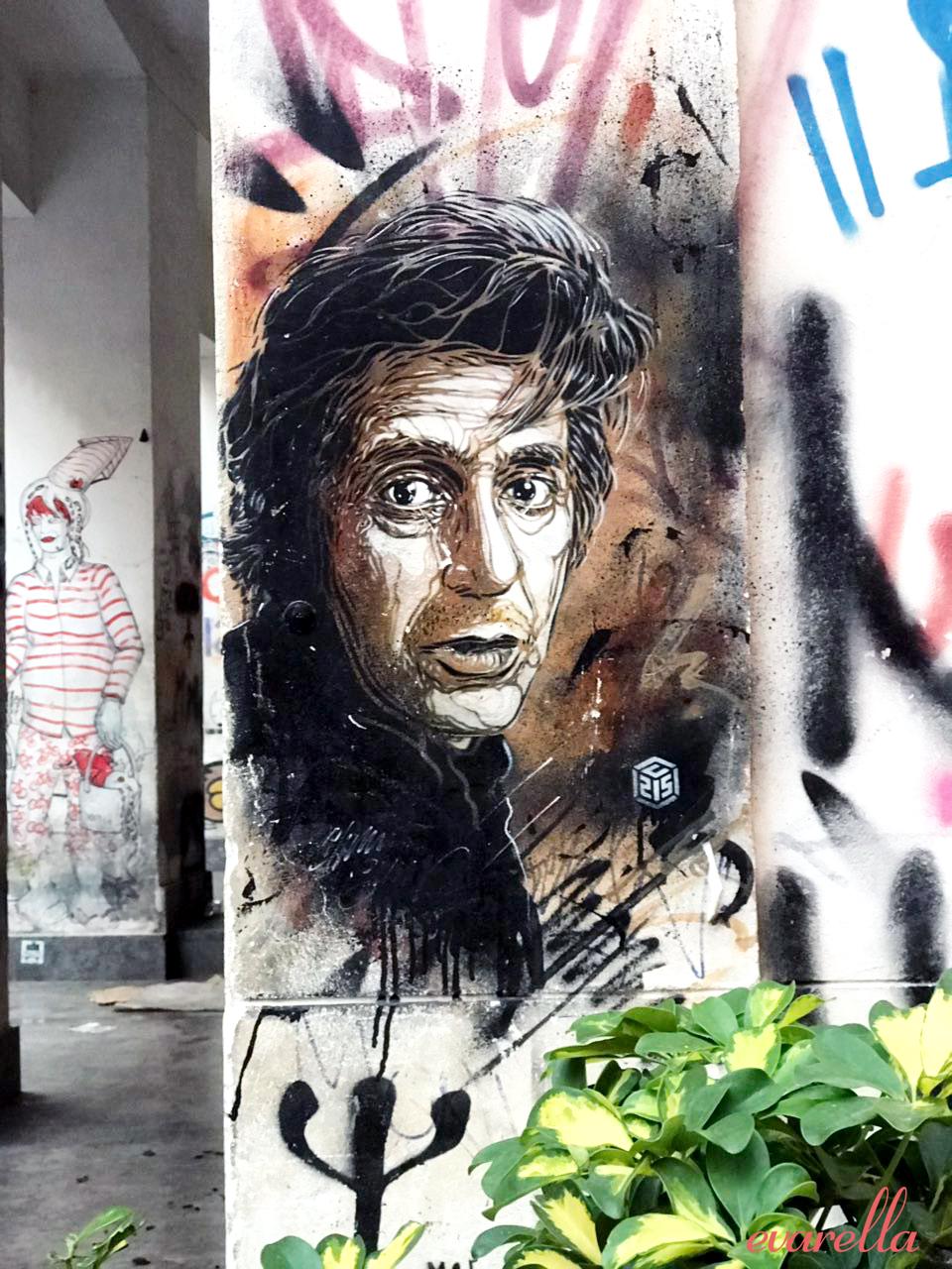 streetart palermo sizilien alpacino derpate