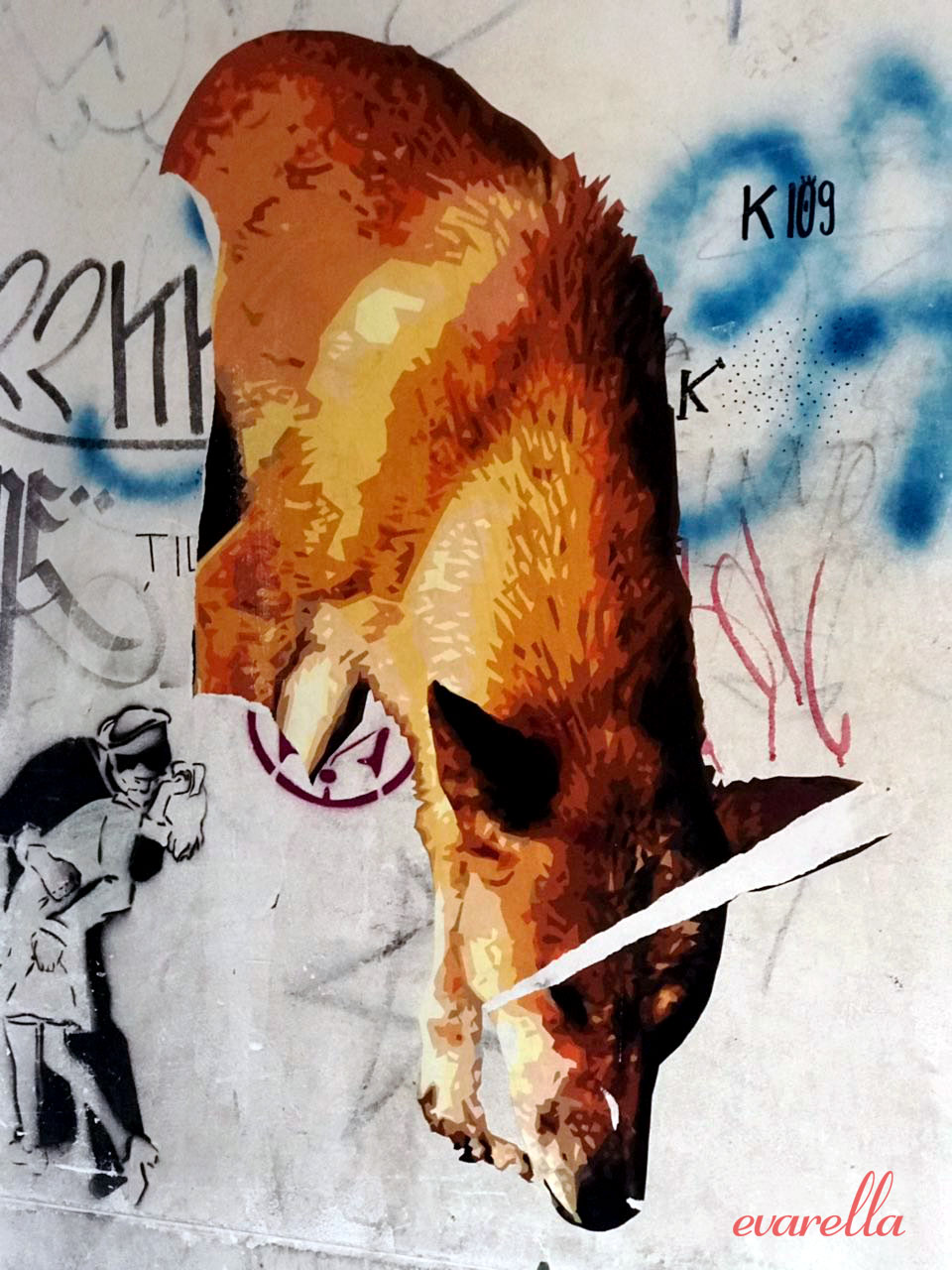 streetart palermo vucciria fuchs